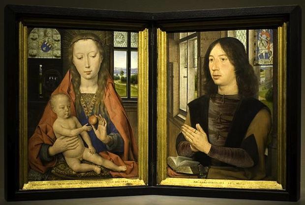 Hans Memling Virgin and Child