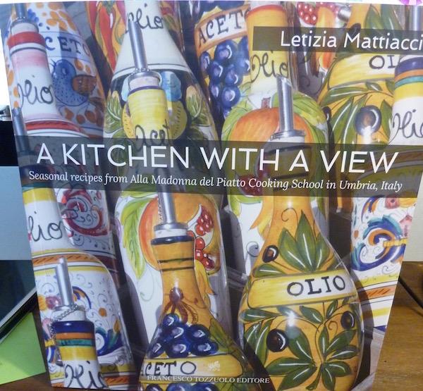 Letizia's cookbook cover