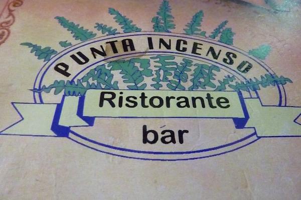 Our Ponza restaurant