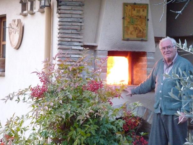 firing the oven