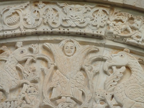 Umbrian medieval stone work
