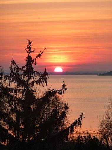 umbrian sunset