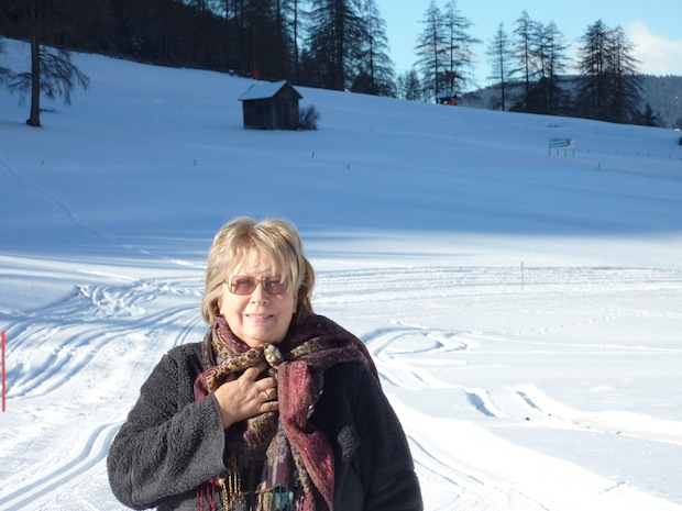 snow in Northern Italy
