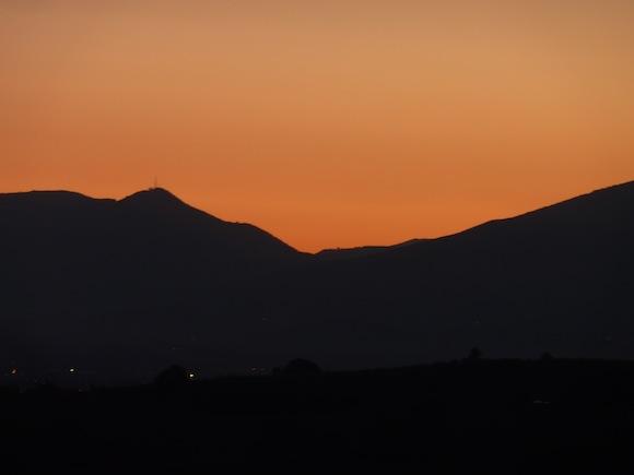 genius loci umbria - sunrise