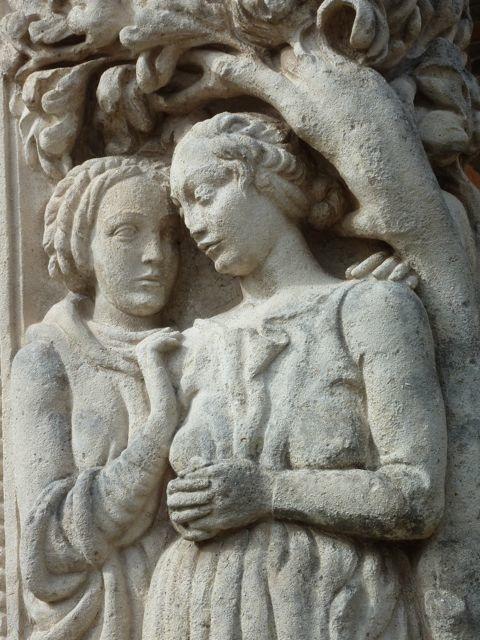 stonework on Murano