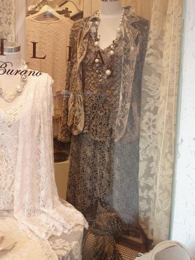burano - venice - lace clothes
