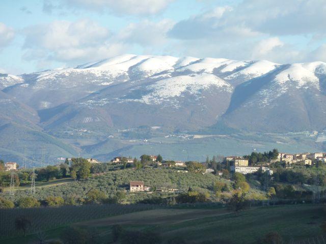 winter at Genius Loci Umbria