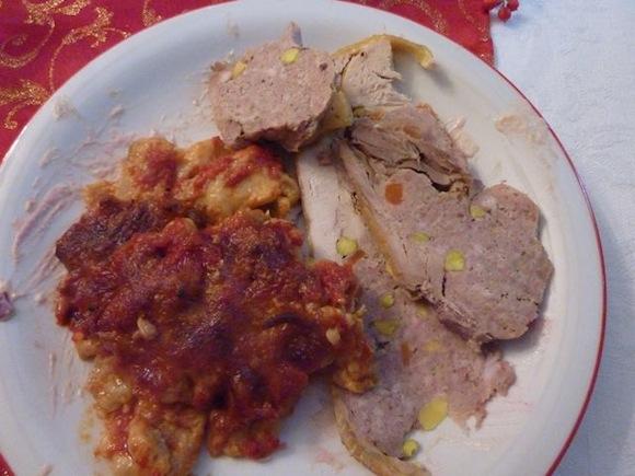 Christmas Umbrian meal