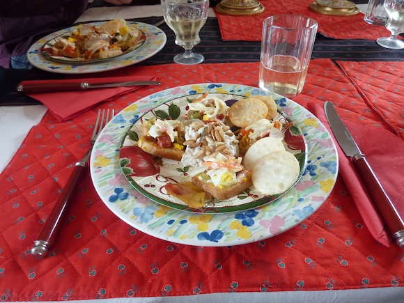 appetizers in Umbria