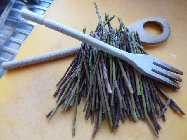 Umbria wild asparagus