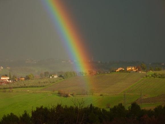 Rainbow at Genius Loci Umbria - Bevagna