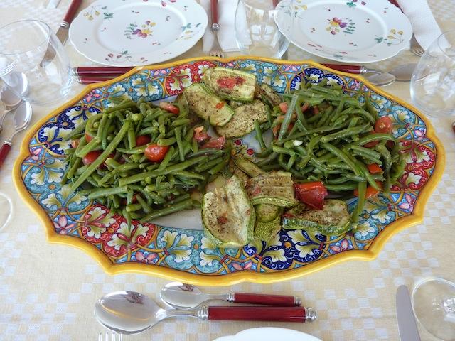 Umbrian summer vegetables