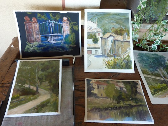 PPainting workshops in Umbria