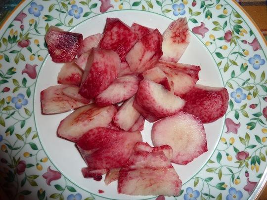 Umbrian summer fruits