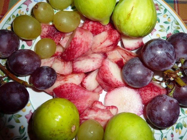 late summer fruits in Umbria
