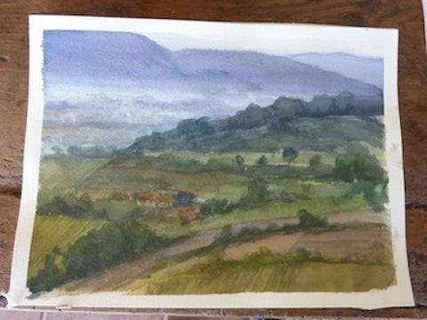 Oil Painting Workshop in Umbria