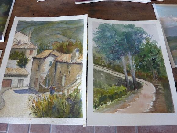 Painting Workshops Umbria