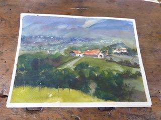Painting in Umbria