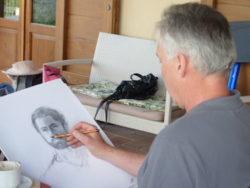 painting classes at Genius Loci Umbria