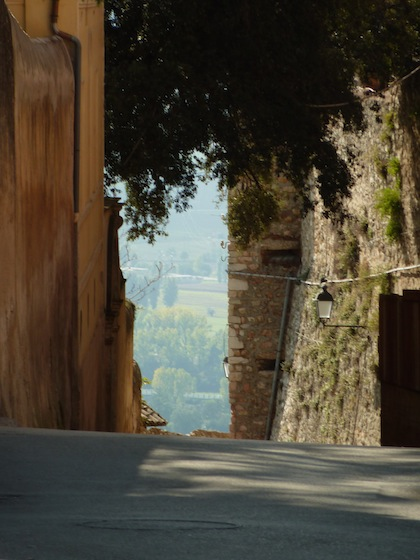 hill towns in Umbria