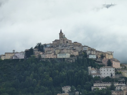 Trevi - picturesque umbrian hill town