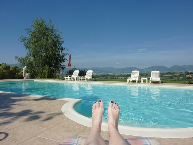 Genius Loci Umbria - the pool