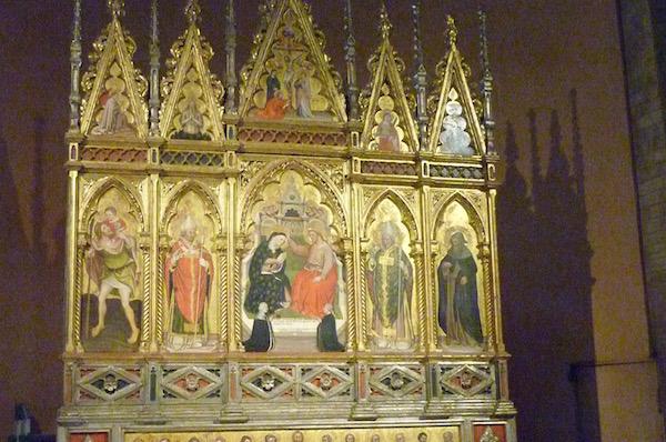 duomo modena - altarpiece