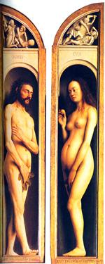 Ghent adam and eve - Van Eyck