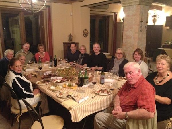 in-house dinner C & G 2014