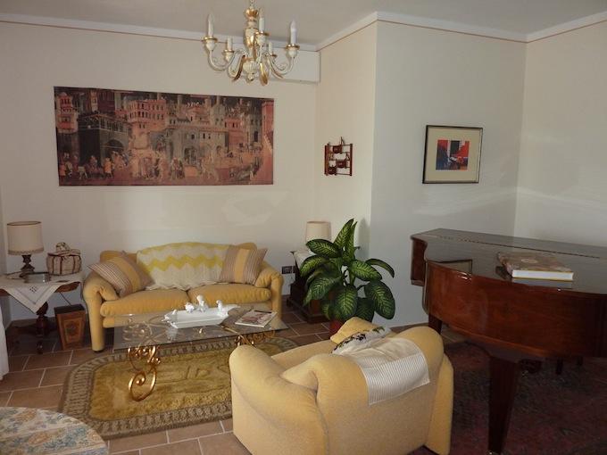 living room of the new Genius Loci apartment