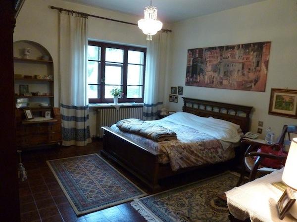 master bedroom of villa
